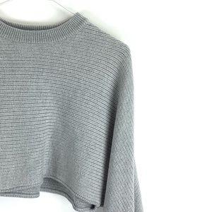 """Wilfred Free """"Lolan"""" Merino Wool Crop Knit Sweater"""